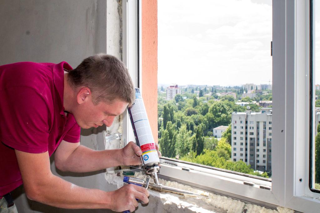 Монтажная пена для установки пластиковых окон